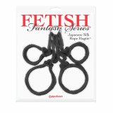 FF Japanese Silk Rope Hogtie Black