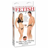 FF Vibrating Hollow Strap On-Flesh