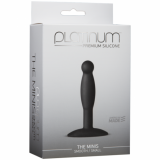 Platinum Premium Silicone The Mini`s Black Smooth - Small
