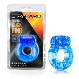 Stay Hard - Reusable Cock Ring - Blue