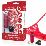 Screaming O - My Secret Charged Remote Control Panty Vibe - Red