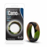 Blush - Performance - Silicone Camo Cock Ring - Green Camoflauge