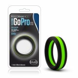 Blush - SILICONE GO PRO COCK RING Black/Green/Black