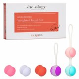 CalExotic - She-ology Interchangeable Weighted Kegel Set