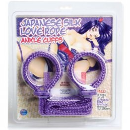 Rope Anklecuffs, Purple