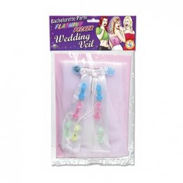 BP Light-Up Pecker Party Veil