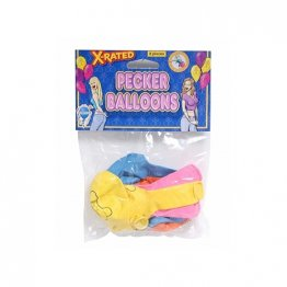X-Rated Pecker Balloons (8 Pieces)
