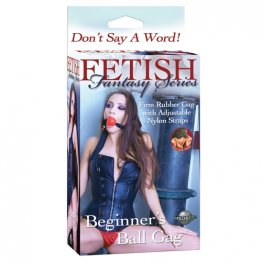 FF Beginner`s Ball Gag Red