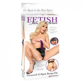 FF Grooved Gspot Strap On
