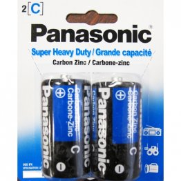 `C` Batteries HD - 2 pack (12 packs per box)