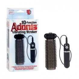 10-Function Adonis Vibrating Stroker - Smoke