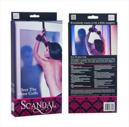 SCANDAL OVER THE DOOR CUFFS