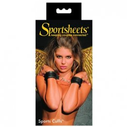 Sportsheets - Sports Cuffs - Black