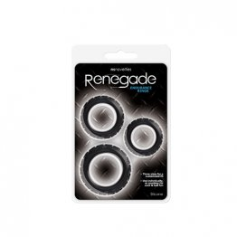 NS - Renegade - Endurance Rings - Black
