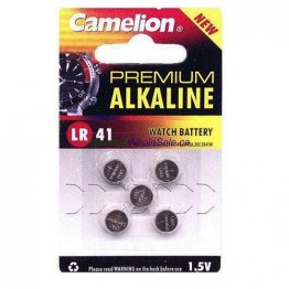AG3-5 (LR 41) Battery (Card of 5)