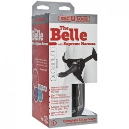 Vac-U-Lock The Belle w/Supreme Harness - Charcoal