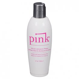 Pink Silicone 4.7oz. flip top bottle