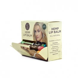 Hemp Lip Balm 48 pc. Pre-pack plus display  Sticks Only (CASES ONLY)