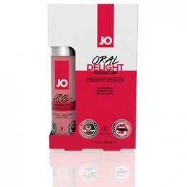 JO Oral Delight - Strawberry Sensation 1oz