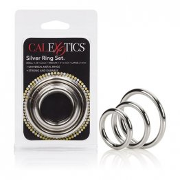 Silver Ring - 3 Piece Set