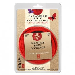 Japanese Love Rope, 3M, Red 10 ft