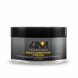 4M Endurance Masturbation Cream w/Ginseng, 4.5 fl.oz