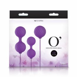 NS - Luxe - O' - Weighted Kegel Balls -  Purple