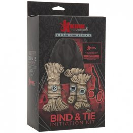 Kink - Bind & Tie Initiation Kit - 5 Piece Hemp Rope Kit