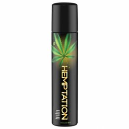 "WET Hemptation ""all natural"" Lubricant 1fl.oz/30mL"