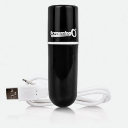 Charged Vooom Rechargeable Bullet Vibe - Black