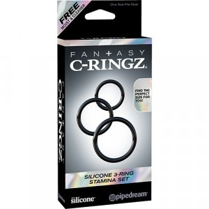 FCR - Silicone 3-Ring Stamina Set