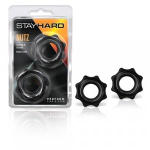 Stay Hard - Nutz - Black