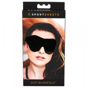 Sportsheets - Soft Blindfold - Black (SS930-40)