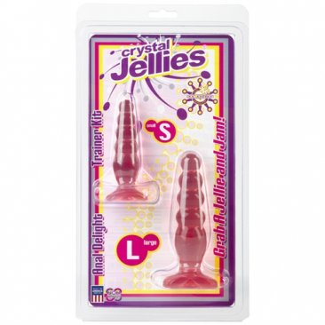 Crystal Jellies Anal Trainer Kit - Pink