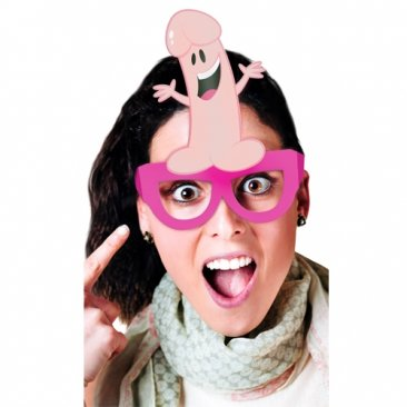 Bachelorette Party Favors Party Pecker Glasses (8 pcs)