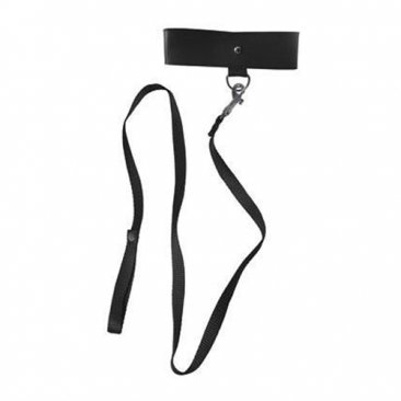 Sportsheets - S&M - Black Leash & Collar