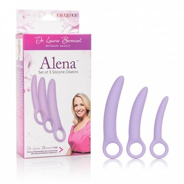 Dr. Laura Berman Alena Set of 3 Silicone Dilators