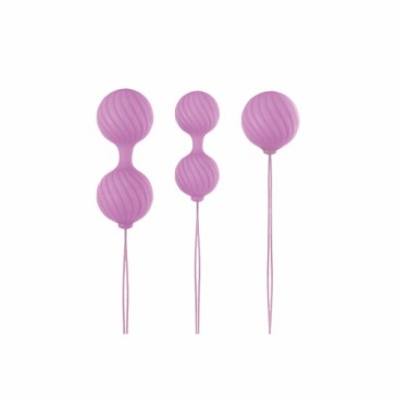 NS - Luxe - O' - Weighted Kegel Balls -  Pink