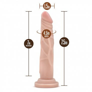 Dr. Skin - Realistic Cock - Basic 7.5 - Beige