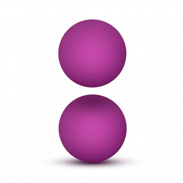 Luxe - Double O Advanced Kegel Balls - Pink