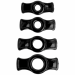 Titanmen Cock Ring Set - Black